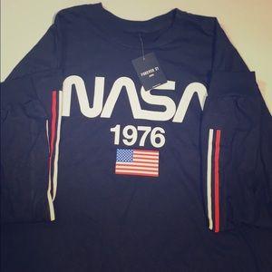 NASA long sleeve shirt